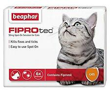 Beaphar FIPROTEC Flea Spot On Treatment For Small, Medium, Large,XL Dogs & Cats