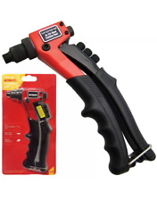 Hand Riveting Tool 210mm Compact Riveter Pop Rivet Gun Amtech B3520