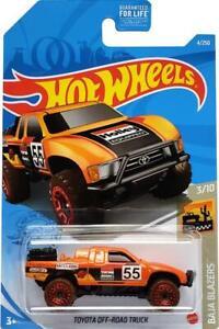 2021 Hot Wheels Mainline #004 - Toyota Off-Road Truck (Orange) GRX70