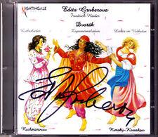 Edita GRUBEROVA Signiert DVORAK Zigeunermelodien Liebeslieder RIMSKY-KORSAKOV CD