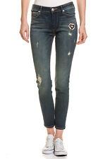 TRUE RELIGION Damen Stretch-Jeans Halle Super Skinny Fit