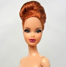 Barbie Doll Model Muse Blonde Steffi face Red hair Up-do Bun Nude