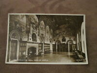 1960 fr real photographic postcard - Banquetting Hall Cardiff Castle - Glamorgan