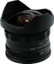 8mm F2.8 Manual Fisheye Lens for Sony E Mount NEX 5R 6 A6500 A5100 A7 II R S