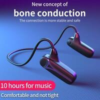 Bluetooth 5.0 Wireless Earphones Bone Conduction Earpices Earbuds Stereo Headset