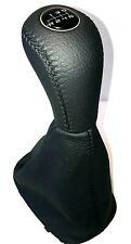 MERCEDES-BENZ C class (2000-2005) LEATHER GEAR SHIFT KNOB AND GAITER BOOT 6speed
