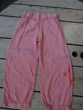 Pantalon en coton léger rose bonbon brodé fleurs KIABI Taille 5 ans parfait état