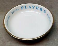 Player's Cigarettes Porcelain Advertising Dish.
