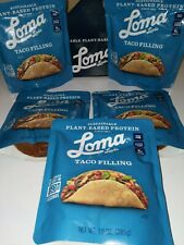 NEW 5 PACK LOMA LINDA Taco FILLING PLANT BASED PROTEIN  5 X 10 OZ