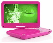 Bush 10 Inch Swivel LCD Shock Resistant Portable DVD Player - Pink - E185