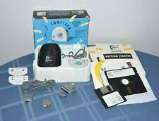 VTG Logitech Trackman T-CC3 Mouse ps/2 serial w Original Box Manuals Adapters