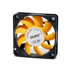 PC Computer Case Cooling Fan Cooler 3-4Pin Silent 60mm 60x60x15mm Quiet M_o