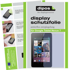 2x Google Tablet Nexus 7 screen protector protection guard anti glare