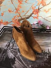 Marc Fisher Janey Ankle Boots Suede Size 7 NEW