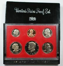 1980 US Mint Proof Set 6 Gem Coins as Issued
