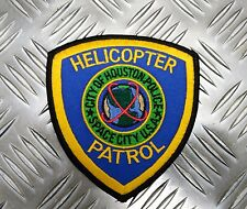 US City of Houston Police Helicopter Patrol Shoulder Patch / Badge  PB16