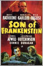 "Frankenstein Movie Poster  Replica 13x19"" Photo Print"