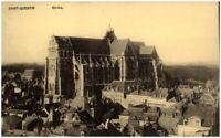 Saint-Quentin ~1914/18 CPA alte Postkarte Kirche Carte Postale Frankreich France