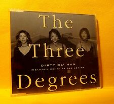 MAXI Single CD The Three Degrees Dirty Ol' Man 4 TR 1993 Euro House, Disco