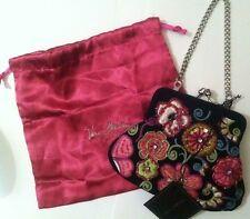 Vera Bradley 25th Anniversary Petite Purse Bag Embroidered Beaded NWT 25 Years