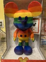 Disney Mickey Mouse Rainblow Plush IN HAND SHIPS NOW BRAND NEW