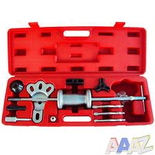 16Pc Axle Slide Hammer / Dent Panel Puller Set Car Van Garage Tools Carry Case