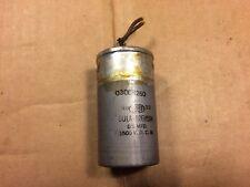 Vintage Tobe .5 uf 1500v Oil Capacitor Tests Good Tube Amp Cap 1940s