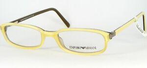 Emporio Armani EA 658 591 PASTEL YELLOW EYEGLASSES GLASSES FRAME 49-17-135mm