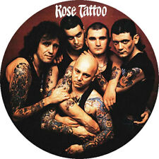CHAPA/BADGE ROSE TATTOO . pin button ac/dc guns and roses angry anderson hard