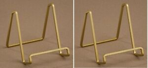 TRIPAR 50226 6.5 Inch Gold Color Metal Square Wire Stand, Pack of 2