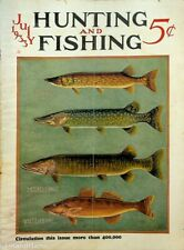 Vintage Hunting & Fishing Magazine June 1933 A Great Cover Sporting Jem160
