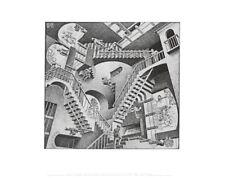 MC Escher Relativität Poster Kunstdruck Bild 28x35,5cm - Germanposters