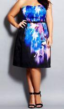 CITY CHIC XL 22 NWT RRP $159.95 DRESS FLORAL FANTASY FORMAL