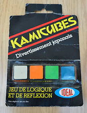 RARO SIGILLATO 1981 ideale Games kamicubes! GIOCO di LOGICA indossare per confezione sigillata!