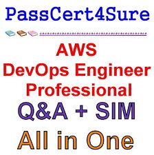 Amazon AWS Certified DevOps Engineer Professional Exam Q&A PDF+SIM