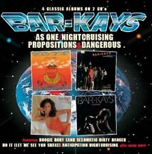 Bar-Kays - As One/Nightcruising/Propositions/Dangerous (NEW 2CD)