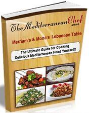 Lebanese Cuisine & Food Cookbook - Soft Copy Only
