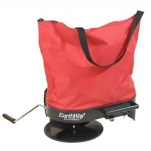 Earthway 2750 20 Lb. Hand Crank Nylon Bag Fertilizer Seed Salt Spreader Hopper