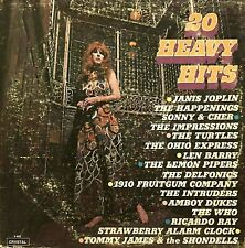 "Orig Artists Today's 20 HEAVY HITS 12"" LP 1st Press 1970 Crystal S-600 PROMO EX"