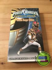 Power Rangers Power Playback: White Ranger Adventure (2000) VHS - NEW - Fox Kids