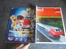 Ancien Train : l'Aérotrain Bertin Train sur Air 1965 Paris Match