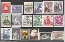 Österreich 1961 Kompletter Jahrgang Postfrisch ** MNH