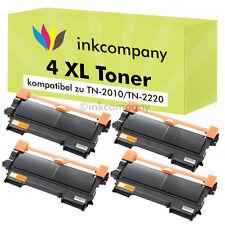 4 Toner pour Brother TN2220 HL2240 HL2250DN MFC7360N MFC7460DN MFC7860 DCP7065DN
