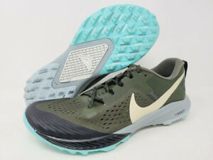 Nike Men's Air Zoom Terra Kiger 5 Running Shoe, Cargo/Jade Stone, 8.5 D(M) US