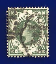1887 Sg211 1s Grey Green K40(2) Throgmorton Avenue Good Used Cat £100 cjne