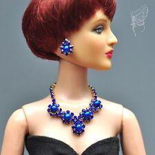 "handmade Tonner Tyler 16"" doll jewelry set necklace+earring for Tonner"