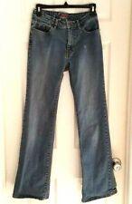 JAG Womens Jeans Size 4 High Rise Flare Leg Blue Denim Medium Wash Some Stretch