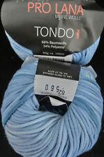 (9,90 €/100 g): 100 g TONDO, Bändchen im Farbverlauf, ProLana Fb.82 blau  #2475