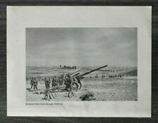 AQ) Blatt 2.WK 1940 Artillerie Geschütz Wolbrom Polen Siwierz Pinczow Soldaten +