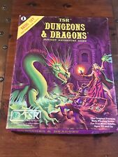 Dungeons and Dragons  Basic set Top Box ONLY 1980 TSR